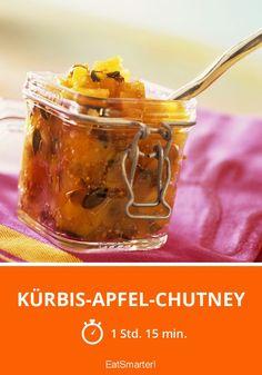 Kürbis-Apfel-Chutney - smarter - Zeit: 1 Std. 15 Min. | eatsmarter.de