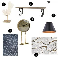Obsessed With: My Curated Sale on Joss & Main! — Self Styled Self Styled, Three Seater Sofa, Round Coffee Table, Joss And Main, Track Lighting, Ceiling Lights, Living Room, House, Furniture