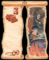 free printable Harry Potter Bookmark Snape and harry