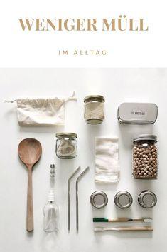 Weniger Abfall im Alltag 10 nachhaltige Produkte für null Abfall No Waste, Reduce Waste, Waste Zero, Diy Bathroom Paint, Recycling, Sustainable Living, Sustainable Products, Minimalist Lifestyle, Green Life