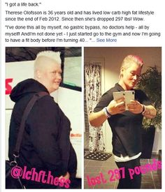 Keto inspiration!! lost 297 pounds low carb high fat!