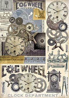 "Decoupagebogen ""Wheel"" - VBS-Hobby.com"