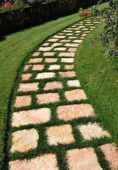 Caminhos Lindos para Jardim   Como fazer em casa