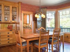 Vacation House Plan Dining Room Photo 01 Plan 011S-0066 | House Plans and More