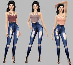 Pentagram Top at Simply Simming Sims 4 Cas, Sims Cc, Cc Top, Sims4 Clothes, Sims 4 Gameplay, Sims 4 Update, Sims 4 Custom Content, Clothes For Women, Female Shirts
