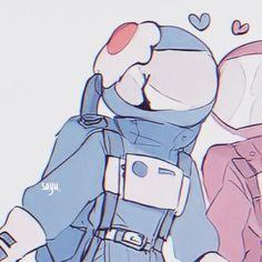 Anime Kawaii, Arte Do Kawaii, Cute Anime Profile Pictures, Matching Profile Pictures, Anime Best Friends, Anime Couples Drawings, Cute Anime Couples, Cute Cartoon Wallpapers, Animes Wallpapers