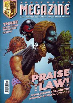 Drokk !!! It's Judge Dredd !!!  Cover art : Greg Staples