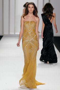J.Mendel, Fall 2012- I want this dress in a different color, please