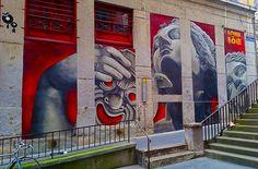 Mes articles street art, graffiti et art urbain - Guillaume Servos Street Art, Big Ben, Rue, Glasgow, Graffiti, Urban, Photos, Tables, Artwork