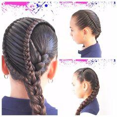 Toddler Hairstyles, Plaits Hairstyles, Hairstyles For School, Brisbane, Santa Lucia, Hairstyle Ideas, Ideas Para, Fashion Beauty, Dreadlocks