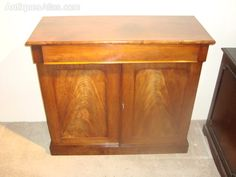 Victorian, Golden Mahogany, Chiffonier With Single - Antiques Atlas