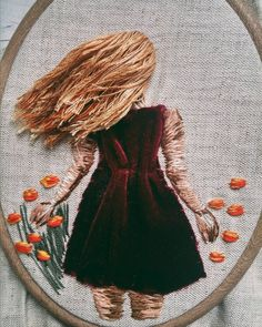 61 отметок «Нравится», 12 комментариев — Embroidery / Вышивка (@nadiagarutt) в Instagram: «Some #workinprogress. It looks little bit messy but it is just the start ;) Эксперимент в процессе…»