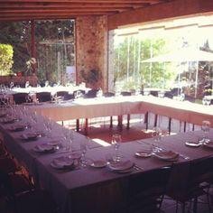 Gaudeix de la terrassa d'hivern, àpats d'empresa, casaments, festes #km0 #slowfood #restaurant #gastronomia