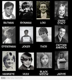 (yes there is some DC nation in here, but it's mostly Marvel) But Loki though . Loki, Thor, Marvel Dc Comics, Marvel Avengers, Young Avengers, Marvel Funny, Baby Avengers, Avengers Superheroes, Avengers Memes