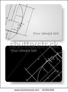 Business cards templates by Anasteisha, via Shutterstock