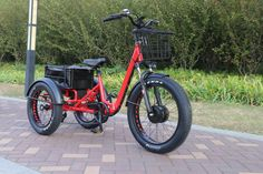 Fat tire electric tricycle FT-1900X - Factory Sale now!