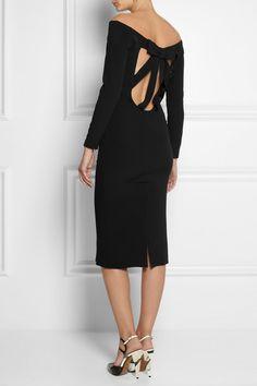 BURBERRY PRORSUM Cutout crepe dress $1,795