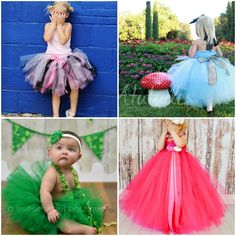 Weddings- the Joys and Jitters: Sweet Flower Girl Tutu Dresses