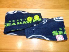 Seahawks Fleece Ear Warmer by OhSewCuteBags on Etsy
