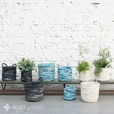 MUST living | Butterfly baskets