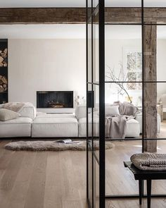 Living Area, Living Spaces, Living Rooms, Steel Doors And Windows, Interior Paint, Interior Design, Ceiling Storage, Property Design, Dining Room Walls