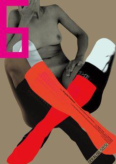 Dekalog 6   Limited edition art poster with the film subject.   Original Polish poster   director: Krzysztof Kieslowski   designer: Ewa Bajek