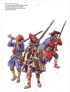 1640-1700 Miquelets.