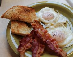 bacon and egs | Just One Donna!: How to Make a Perfect Bacon and Egg Breakfast
