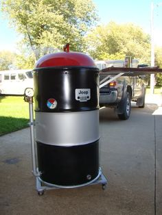 Ugly Drum Smoker Photo Gallery Q-talk Barrel Stove, Ugly Drum Smoker, Smoke Grill, Smoking Meat, Smokers, Being Ugly, Drums, Grilling, Photo Galleries