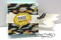 A La Pause: Ensemble avec Boîte à Pizza, Marie-Josée Trudel, Chalkboard SU Happy Watercolor