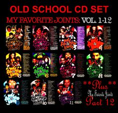 MY FAVORITE JOINTS DJ DOGGTIME Mixtape 11 CD Set Compilations