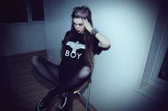 Boy London T Shirt, Tuk Creepers