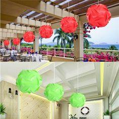 30pcs 25cm iq rompecabezas rompecabezas de la lámpara de pantalla de lámpara de techo bricolaje cubierta de la lámpara decoración artesanal cabrito casero luz en Banggood
