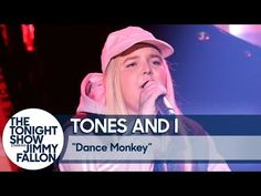 """Watch Tones and I Debut """"Dance Monkey"""" on US TV on Jimmy Fallon Show - Justrandomthings Song Playlist, Mp3 Song, Mermaid Wallpapers, All About Music, Music Clips, For You Song, Beautiful Songs, Music Download, Latest Music"""
