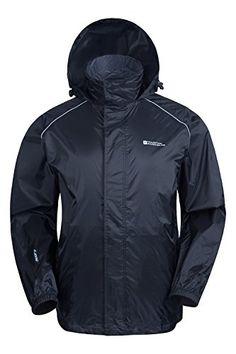Mountain Warehouse Pakka Mens Waterproof Rain Jacket Lightweight ** Visit the image link more details.