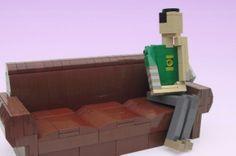 Ochre Jell's Celebrity in Lego: Sheldon Cooper - #LEGO #celebs #TBBT #sheldoncooper #bazinga