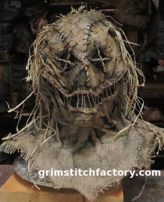 Corn Jester #scary #horror #scarecrow #mask #burlap #halloween #costume #voodoo #doll