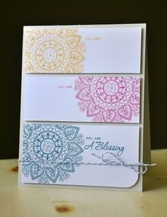 card. love the stamp. by Rocio Bacino