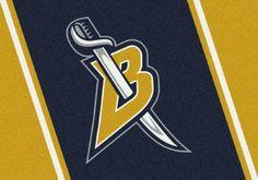 Milliken Nhl Spirit Area Rug Buffalo Sabres 01031 Nhl Hockey Team 3' 10' x 5' 4' Rectangle, Blue