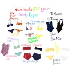Swimsuits For Your Body Type!