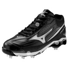 SALE - Mens Mizuno Classic G6 Baseball Cleats Black - Was $99.99. BUY Now - ONLY $49.97