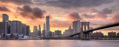Manhattan Skyline bydjpoe  (Source: candidnewyork)