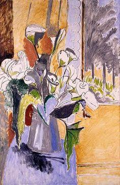 Flores y Palabras: Henri Matisse: Bodegones con flores