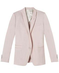 coloured suit jacket / the kooples