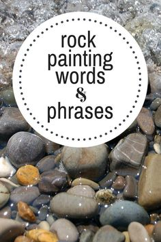 Most Popular Rock Painting Words & Phrases | Montana Happy