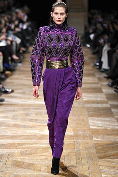 Balmain Fall 2013 Ready-to-Wear Collection Slideshow on Style.com Look 36