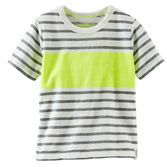 Colorblock stripe t, in yellow, size 5, $6, for Dylan