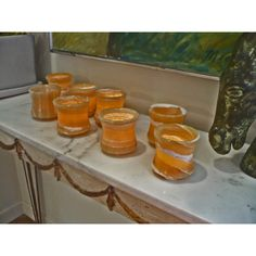 Set of 8 Hand-polished Lotus Cups (Egypt) - Overstock Shopping - Great Deals on Candles & Holders