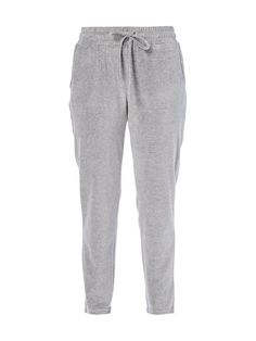Sweatpants aus Samt Grau / Schwarz - 1 Soft Summer, Autumn Summer, Touch Of Gray, Sweatpants, Marc O Polo, Summer Colors, Grey, Outfit, How To Wear
