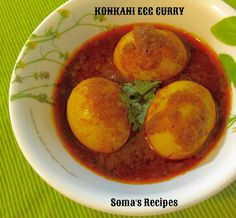 CURRY AND SPICE: KONKANI EGG CURRY